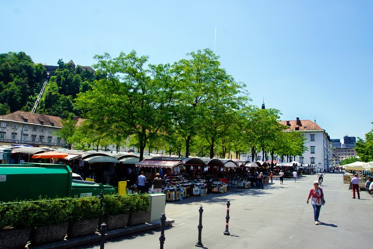 Surviving Europe: 48 Hours Discovering the Best of Ljubljana and Lake Bled - Central Market