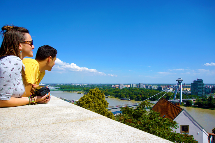 Surviving Europe: 5 Days in Bratislava Our Guide to the Capital of Slovakia - Overlooking Bratislava