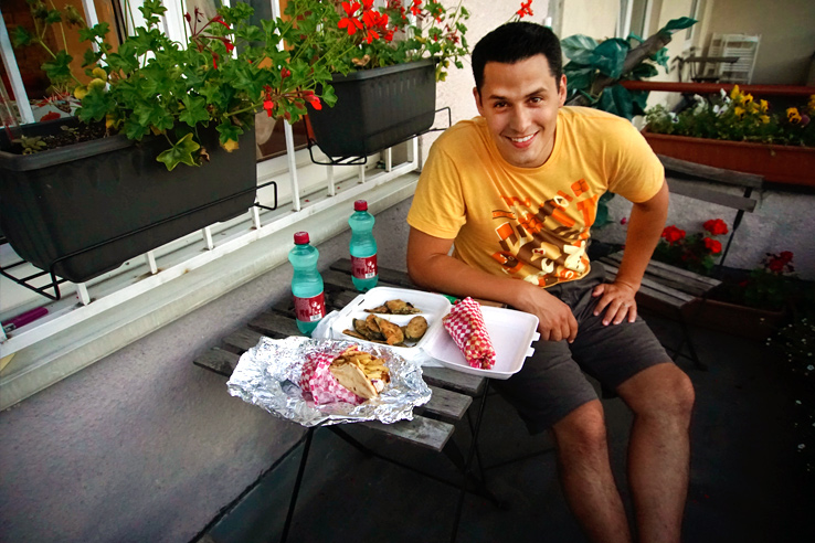 Surviving Europe: 5 Days in Bratislava Our Guide to the Capital of Slovakia - Eating on our Porch