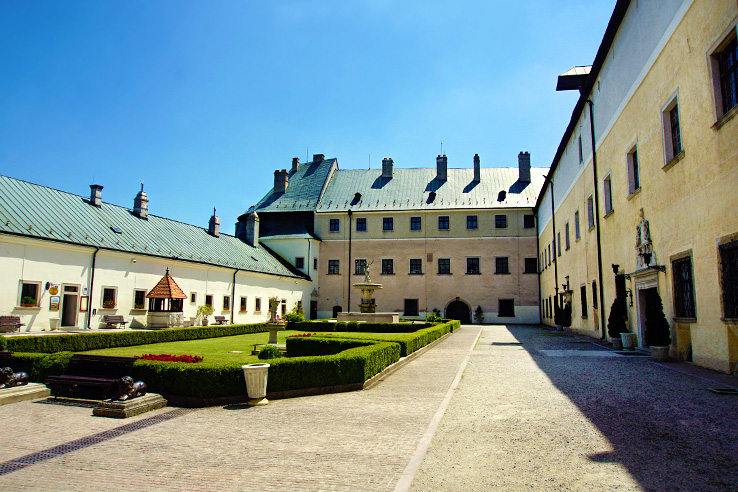 Surviving Europe: 5 Days in Bratislava Our Guide to the Capital of Slovakia - Red Stone Castle Inside