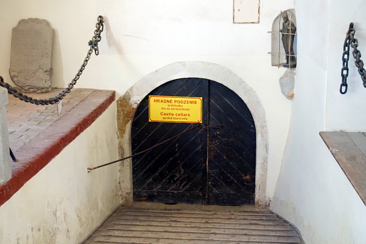 Surviving Europe: 5 Days in Bratislava Our Guide to the Capital of Slovakia - Red Stone Castle Cellar Entrance