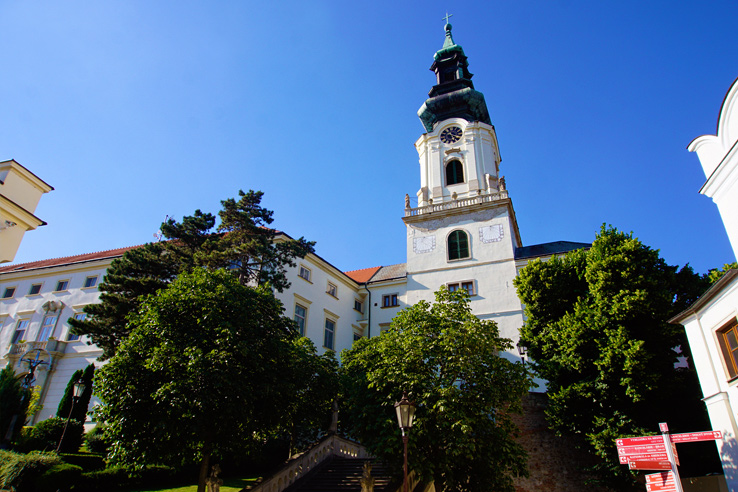 Surviving Europe: 5 Days in Bratislava Our Guide to the Capital of Slovakia - Nitra Castle Grounds