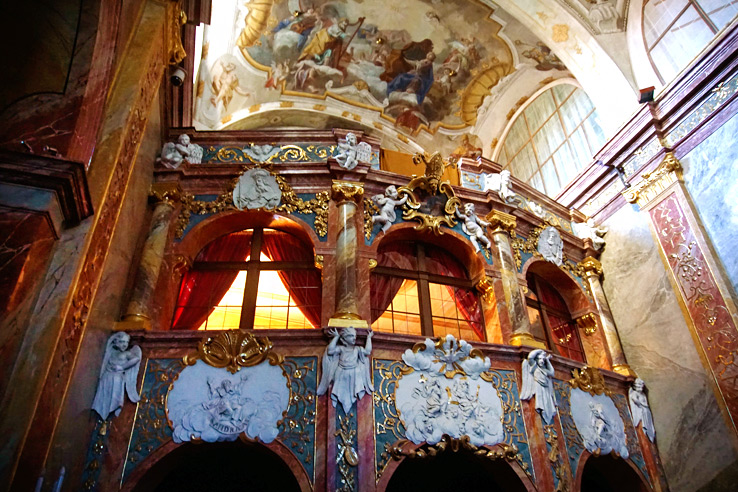 Surviving Europe: 5 Days in Bratislava Our Guide to the Capital of Slovakia - Nitra Church Inside