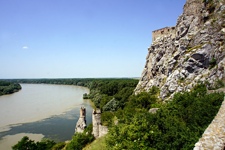 Surviving Europe: 5 Days in Bratislava Our Guide to the Capital of Slovakia - Devin Castle Maiden Tower