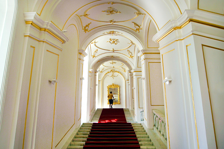 Surviving Europe: 5 Days in Bratislava Our Guide to the Capital of Slovakia - Bratislava Castle Stairs