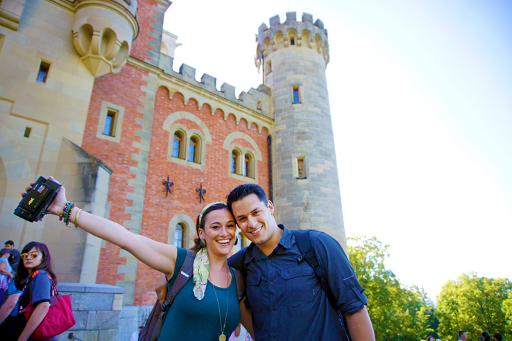 Surviving Europe: Excuses for Not Moving Abroad and How to Overcome Every One - Us at Neuschwanstein Castle