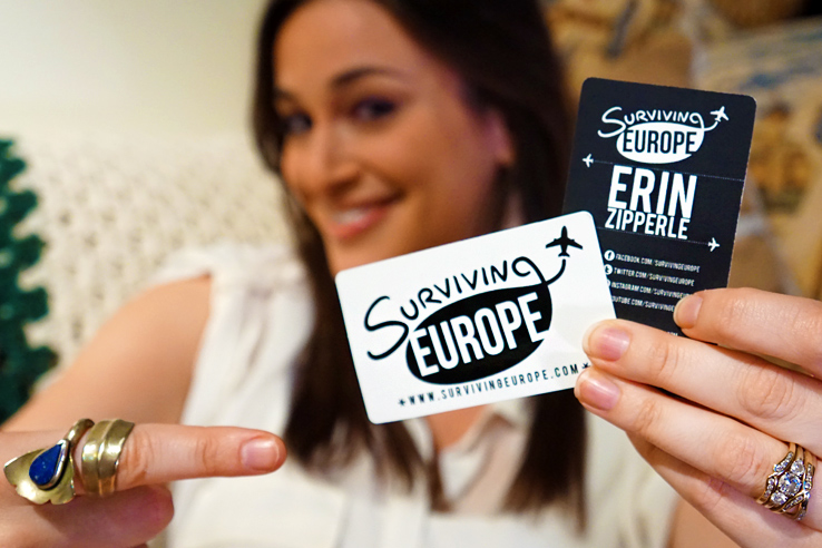 Surviving Europe: Moving Abroad Buying Tickets that Changed Our Life - SE Cards