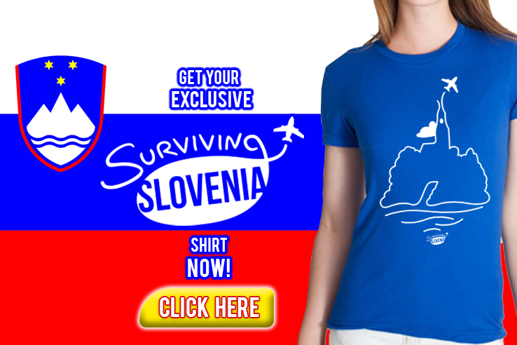 Surviving Europe: Slovenia T-Shirt