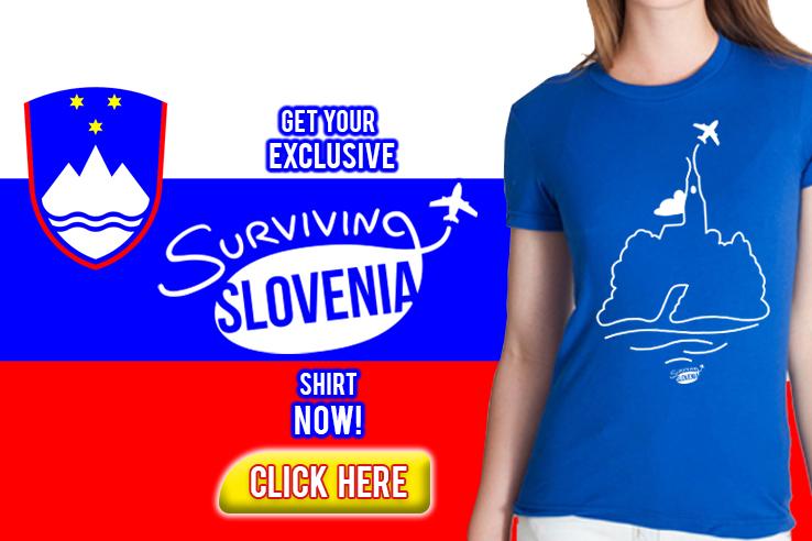 Surviving Europe: Slovenia T-Shirt