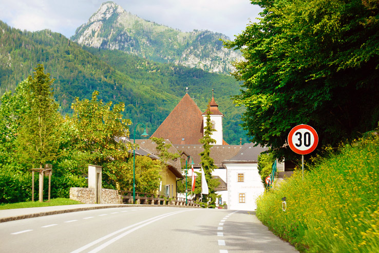 Surviving Europe: 21 Tips for a Successful Europe Road Trip - Driving in Austria