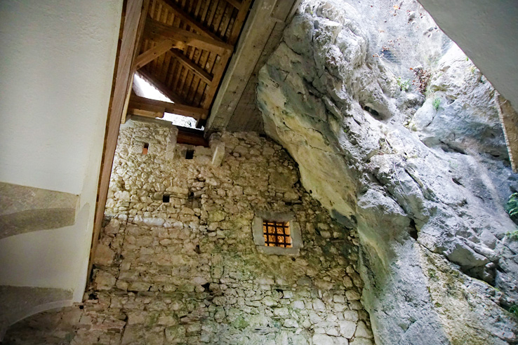 Surviving Europe: Adventures in Slovenia: Postojna Cave and Predjama Castle - Inside Predjama Castle
