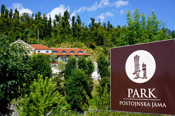 Surviving Europe: Adventures in Slovenia: Postojna Cave and Predjama Castle - Postojna Cave Sign