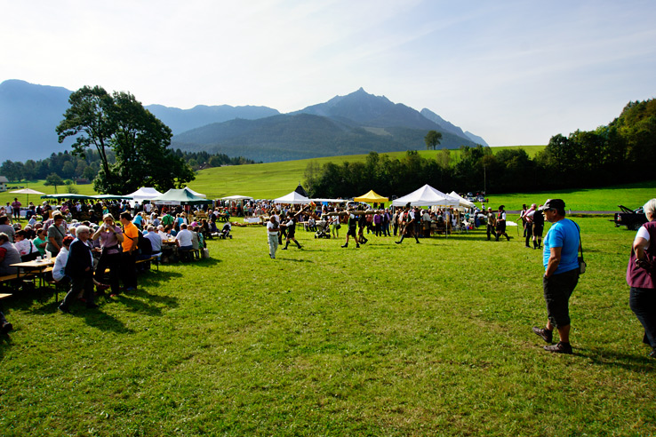 Surviving Europe: Almabtrieb in Austria A Cow Parade in the Alps the Alps - Craft Vendors
