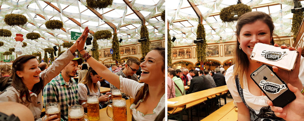 Surviving Europe: How to Plan a Last Minute Trip to Munich Oktoberfest - Us at Oktoberfest
