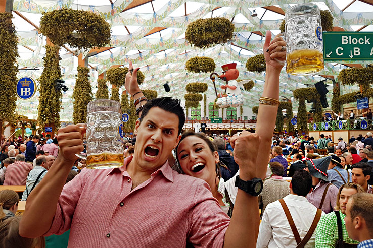 Surviving Europe: How to Plan a Last Minute Trip to Munich Oktoberfest - Hofbrau Tent