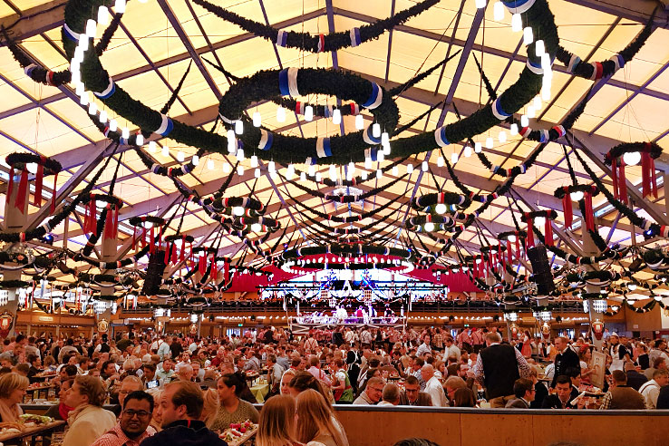 Surviving Europe: How to Plan a Last Minute Trip to Munich Oktoberfest - Oktoberfest Beer Tent