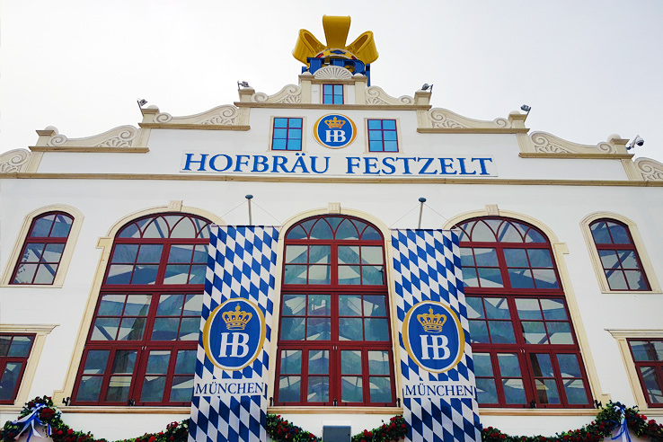Surviving Europe: How to Plan a Last Minute Trip to Munich Oktoberfest - Hofbrau Festzelt