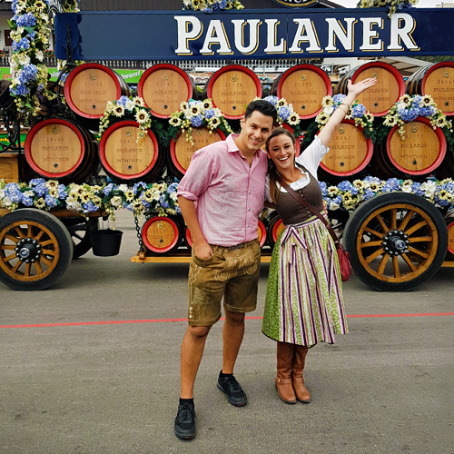 Surviving Europe: How to Plan a Last Minute Trip to Munich Oktoberfest - Us at Oktoberfest 2016Surviving Europe: How to Plan a Last Minute Trip to Munich Oktoberfest - Us at Oktoberfest 2016