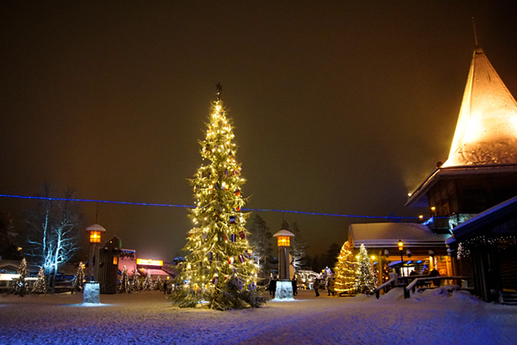 Surviving Europe: We Met Father Christmas at Santa Claus Village in Rovaniemi Finland - Santa Claus Village