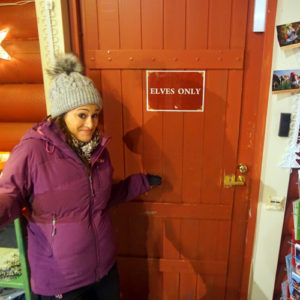 Surviving Europe: We Met Father Christmas at Santa Claus Village in Rovaniemi Finland - Elves Only