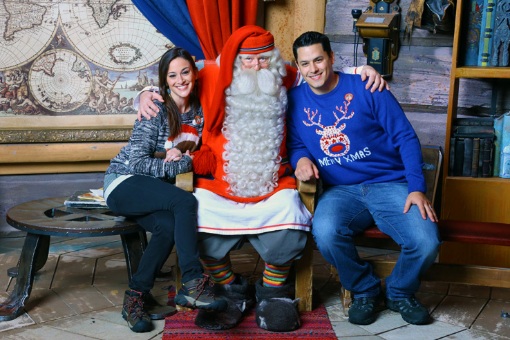 Surviving Europe: We Met Father Christmas at Santa Claus Village in Rovaniemi Finland - Erins Meet Santa