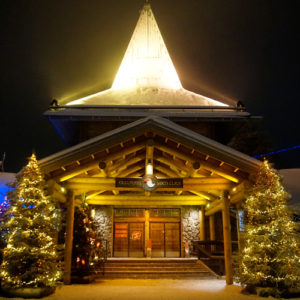 Surviving Europe: We Met Father Christmas at Santa Claus Village in Rovaniemi Finland - Santa Building