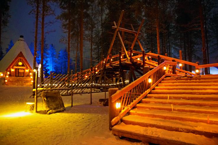 Surviving Europe: We Met Father Christmas at Santa Claus Village in Rovaniemi Finland - Village