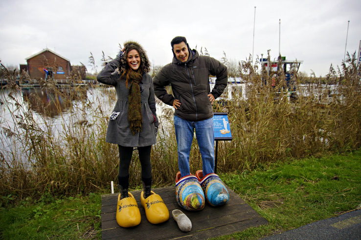 Surviving Europe: How to Follow Through on Your New Years Resolution to Travel - Clogs at Kinderdijk