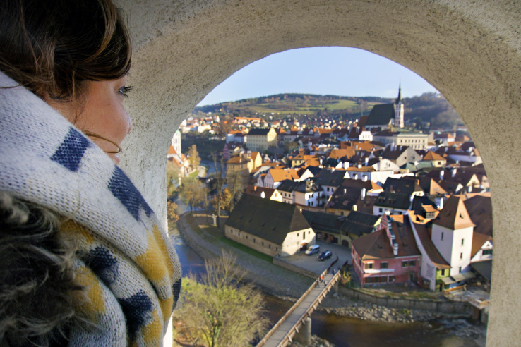 Surviving Europe: How to Follow Through on Your New Years Resolution to Travel - Cesky Krumlov View