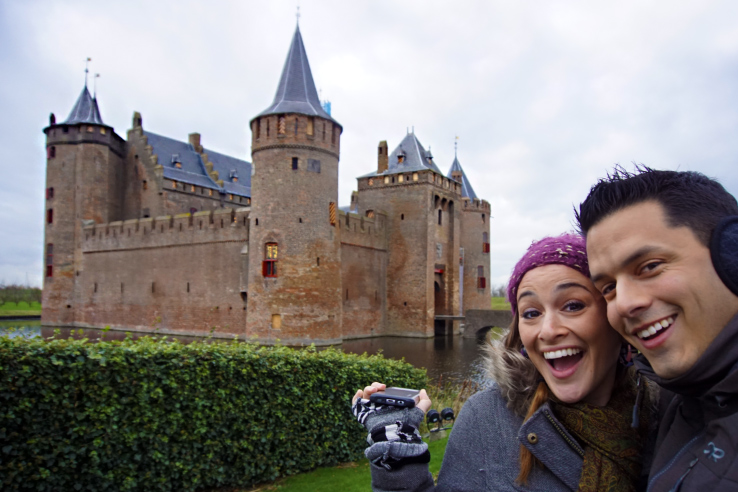 Surviving Europe: How to Follow Through on Your New Years Resolution to Travel - Amsterdam Castle Muiderslot