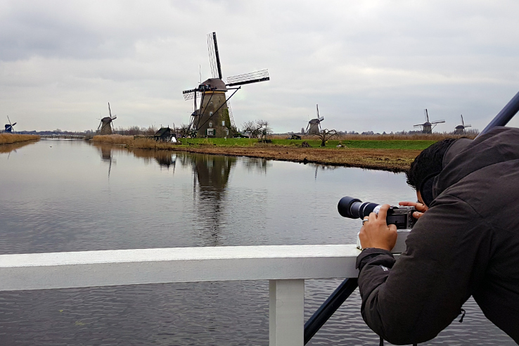 Surviving Europe: How to Follow Through on Your New Years Resolution to Travel - Kinderdijk Photo Shoot