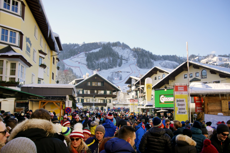 Surviving Europe: Hahnenkamm World Cup Ski Race in Kitzbuhel Austria - After Party