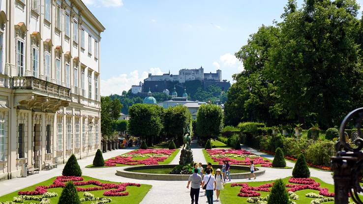 Surviving Europe: Best of Salzburg from a Local's Perspective - Mirabell Gardens