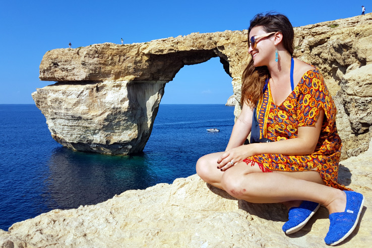 Surviving Europe: In Memory of the Azure Window in Gozo Malta - Bean at Azure Window