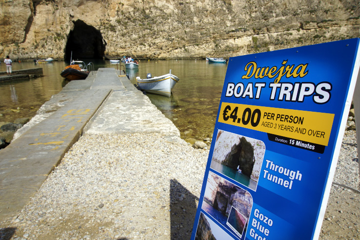 Surviving Europe: In Memory of the Azure Window in Gozo Malta - Azure Window Boat Ride