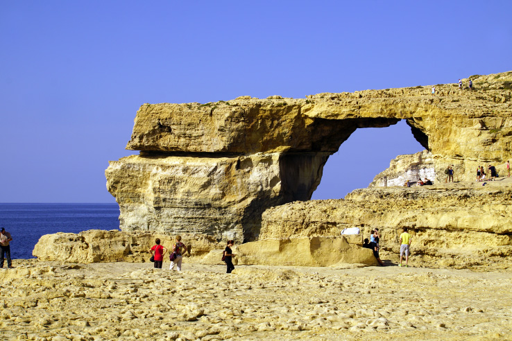 Surviving Europe: In Memory of the Azure Window in Gozo Malta - Azure Window Rocks