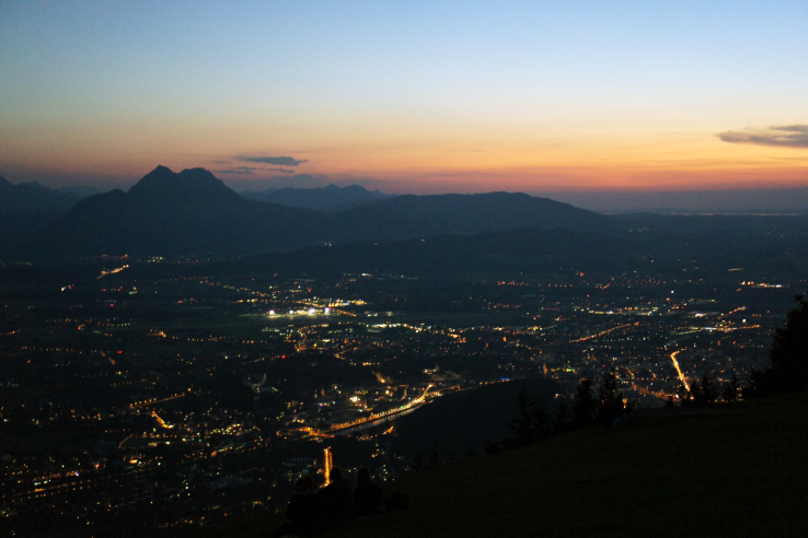 Surviving Europe: Best of Salzburg from a Local's Perspective - Gaisberg Sunset