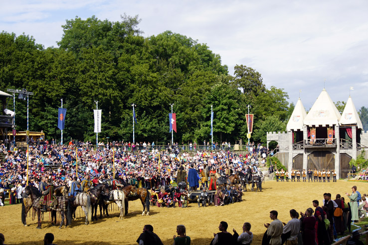 Surviving Europe: Kaltenberger Ritterturnier: Largest Jousting Tournament in the World - Jousting