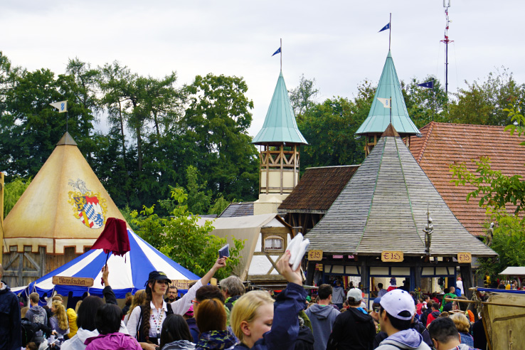 Surviving Europe: Kaltenberger Ritterturnier: Largest Jousting Tournament in the World - Entrance