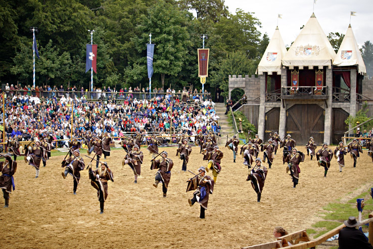 Surviving Europe: Kaltenberger Ritterturnier: Largest Jousting Tournament in the World - Ninjas