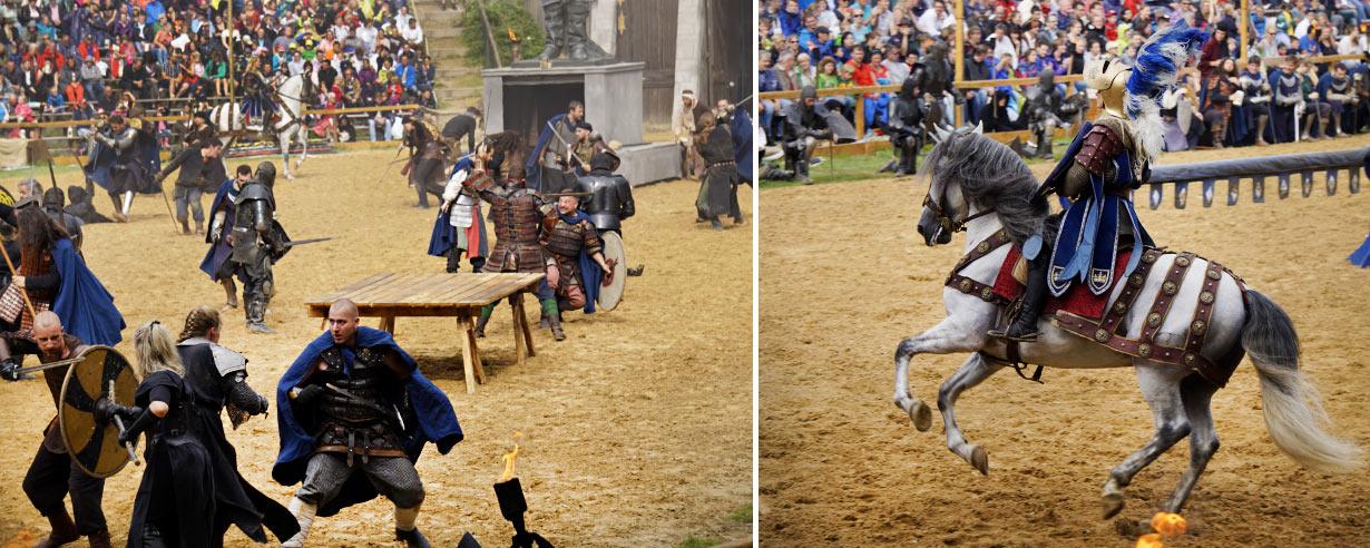 Surviving Europe: Kaltenberger Ritterturnier: Largest Jousting Tournament in the World - Battle Scenes