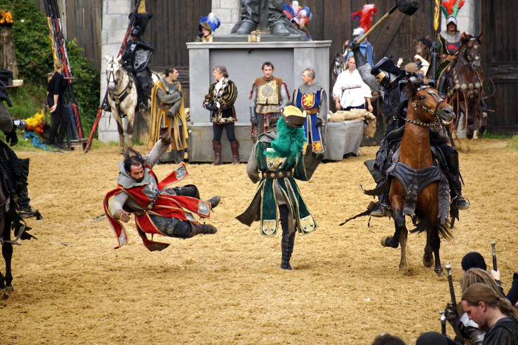 Surviving Europe: Kaltenberger Ritterturnier: Largest Jousting Tournament in the World - Battle