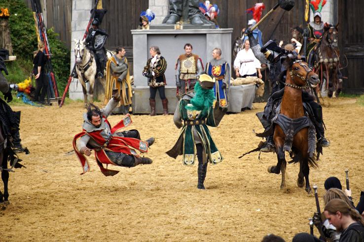 Surviving Europe: Kaltenberger Ritterturnier: Largest Jousting Tournament in the World - Battle