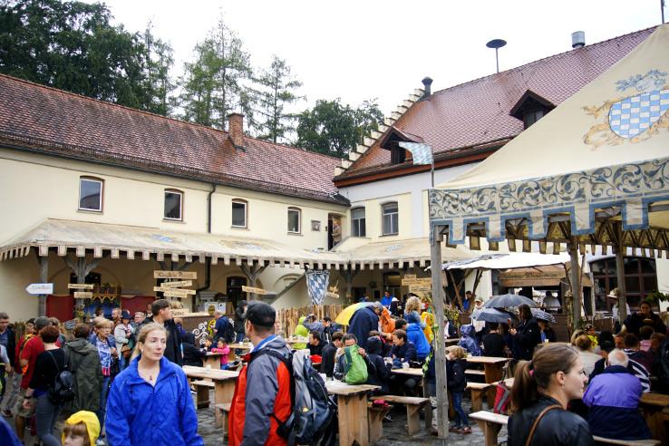 Surviving Europe: Kaltenberger Ritterturnier: Largest Jousting Tournament in the World - Beer Garden