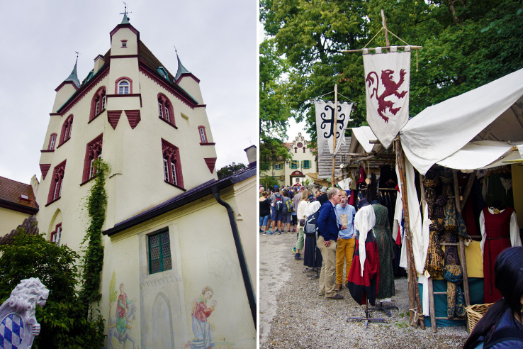 Surviving Europe: Kaltenberger Ritterturnier: Largest Jousting Tournament in the World - Castle
