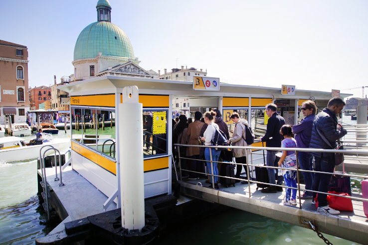 Surviving Europe: 13 Essential Venice Survival Tips to Enjoy Your Trip - Water Taxi Stop