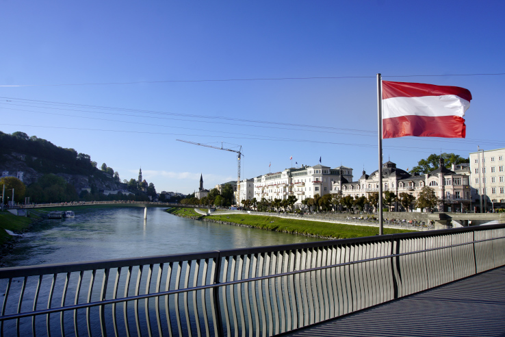 Surviving Europe: How to Keep the Momentum Going After 2 Years of Living Abroad - Austrian Flag