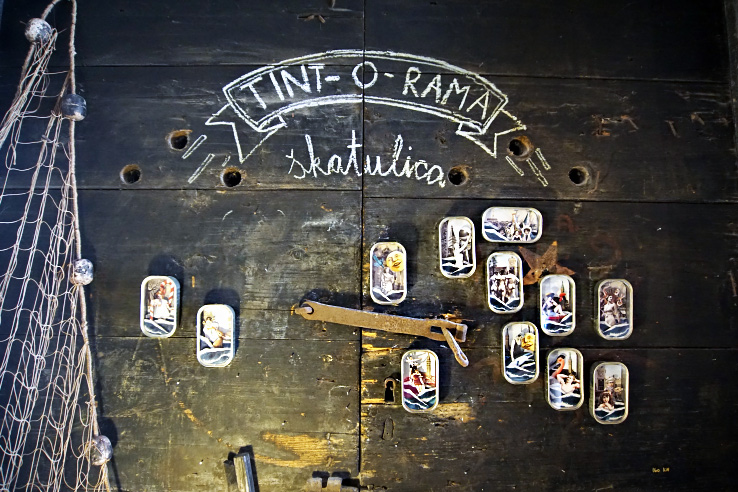 Surviving Europe: What to Buy in Rovinj Crafts and Souvenirs from Croatia - Sardine Cans