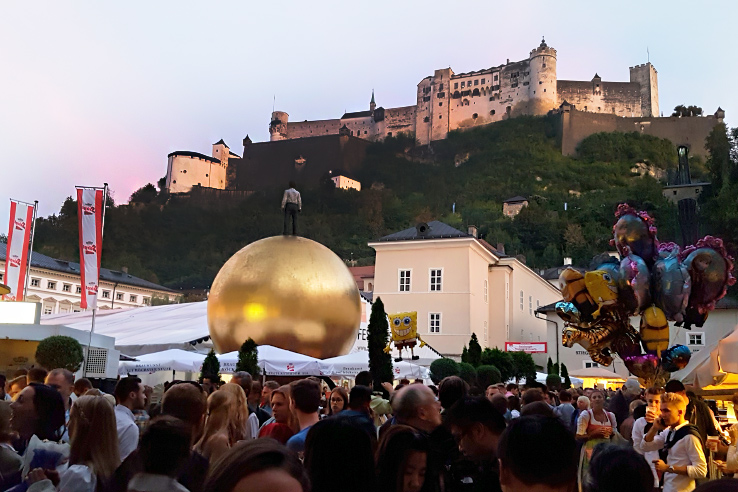Surviving Europe: St. Rupert's Fair The Biggest Traditional Festival in Salzburg - Fortress