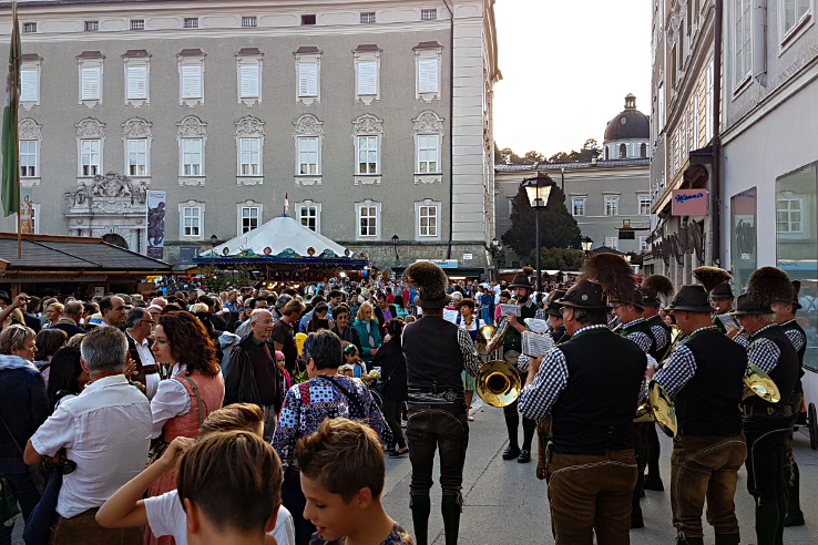 Surviving Europe: St. Rupert's Fair The Biggest Traditional Festival in Salzburg - Music